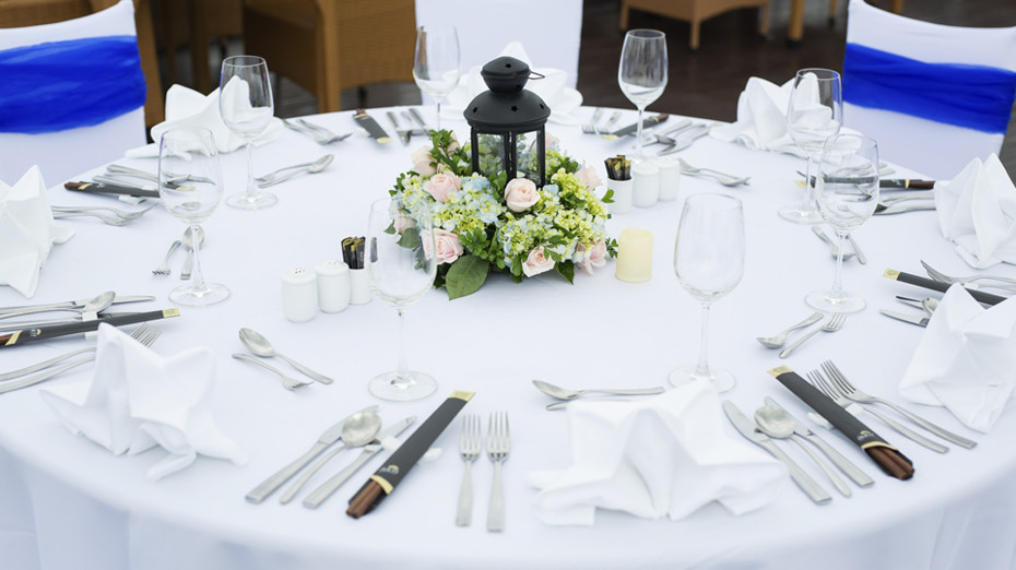 Special table set-up